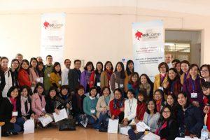 Những thành viên tham gia hội thảo Edcamp Viet Nam
